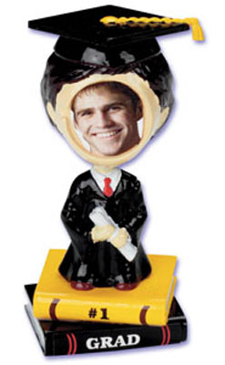 Bakery Crafts Boy Grad Bobblehead Cake Topper