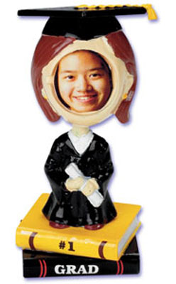 Bakery Crafts Girl Grad Bobblehead Cake Topper