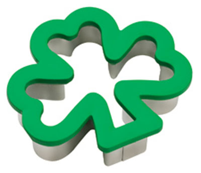 Wilton Shamrock Comfort Grip Cookie Cutter