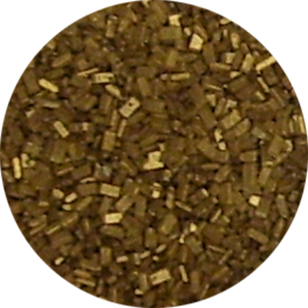 Metallic Gold Coarse Sugar