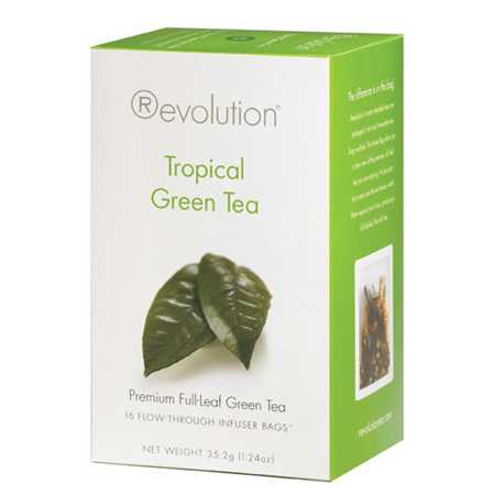 Revolution Tea Tropical Green Tea 16 Ct. Infuser Bags
