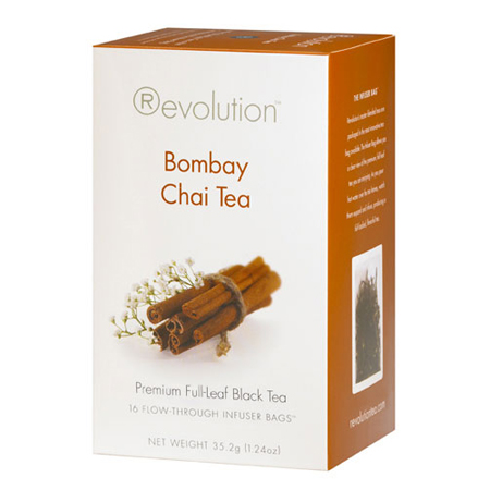 Revolution Tea Bombay Chai Tea 16 Ct. Infuser Bags