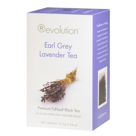 Revolution Tea Earl Grey Lavender Tea 16 Ct. Infuser Bags