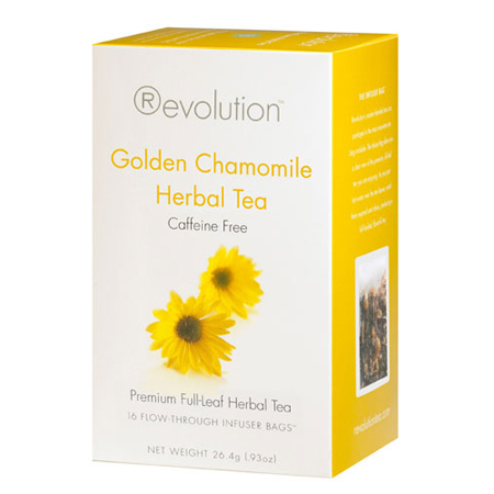 Revolution Tea Golden Chamomile Herbal Tea 16 Ct. Infuser Bags
