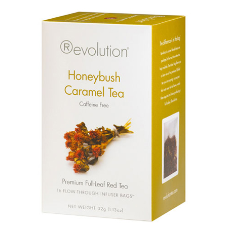 Revolution Tea Honeybush Caramel Tea 16 Ct. Infuser Bags