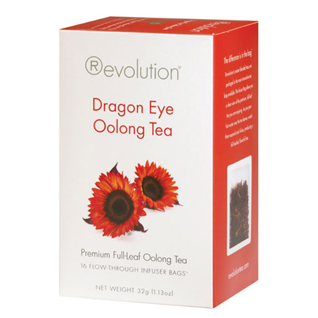 Revolution Tea Dragon Eye Oolong Tea 16 Ct. Infuser Bags
