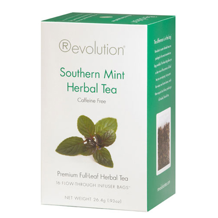 Revolution Tea Southern Mint Herbal Tea 16 Ct. Infuser Bags