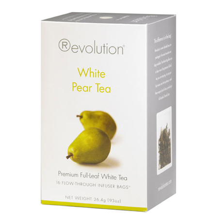 Revolution Tea White Pear Tea 16 Ct. Infuser Bags