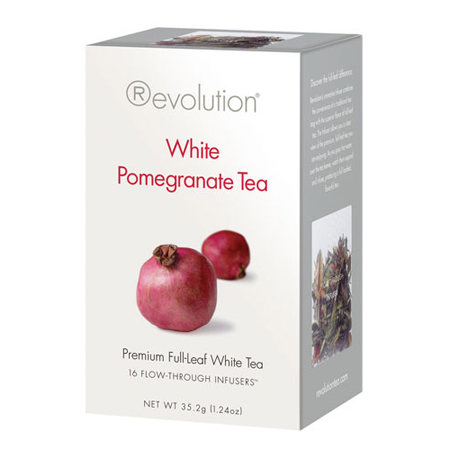 Revolution Tea White Pomegranate Tea 16 Ct. Infuser Bags