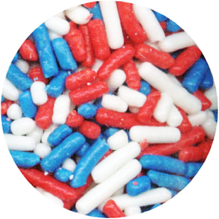 Patriotic Mix Jimmies