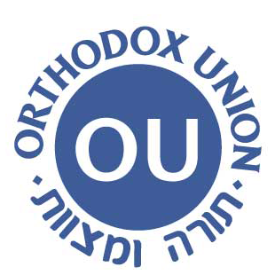 Kosher Certified By The Orthodox Union
