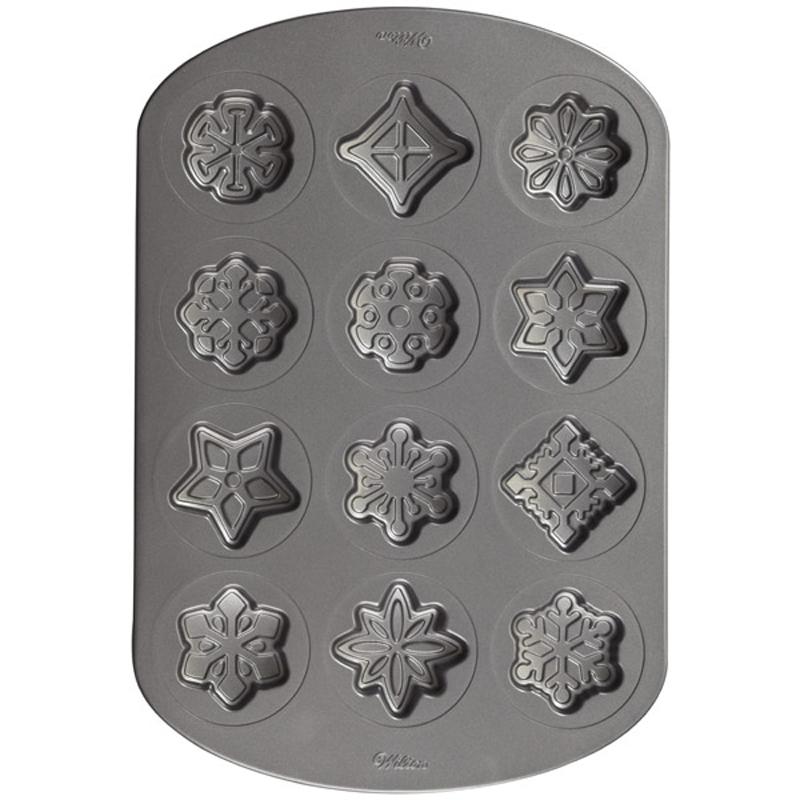 Wilton Snowflake Non Stick Cookie Pan
