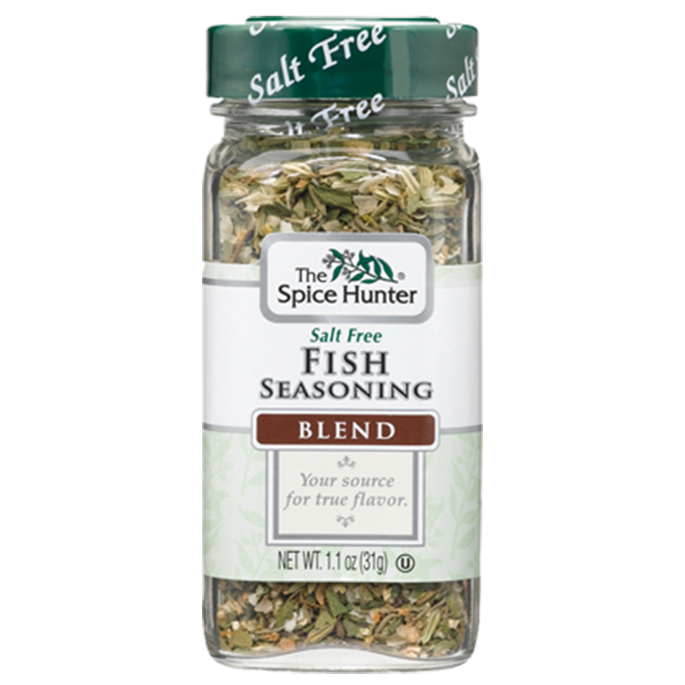 Spice hunter fish seasoning blend 1 1 oz for Best seasoning for fish
