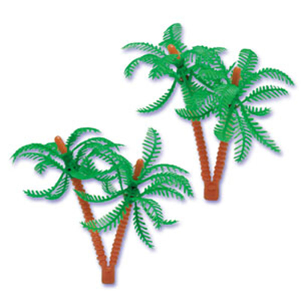 Plastic Palm Trees For Cake Decorating