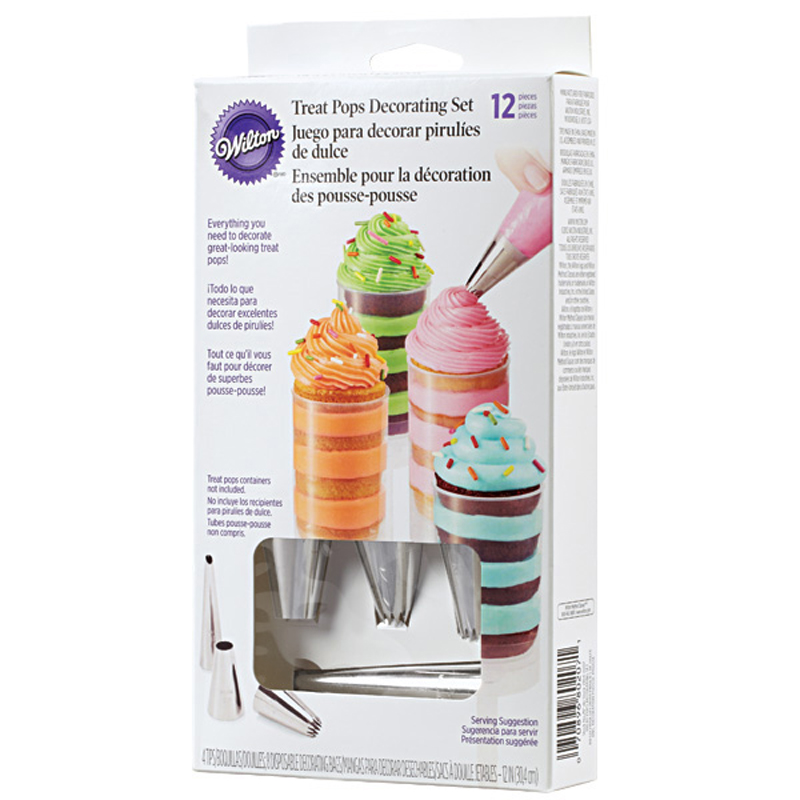 Wilton Cake Pop Decorating Kit : Wilton Treat Pop Decorating Set