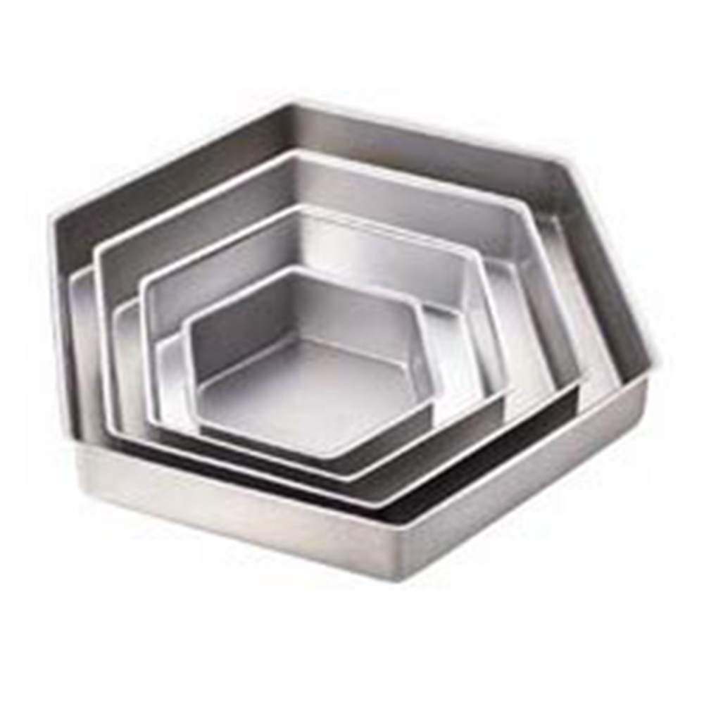 Wilton Hexagon Cake Pan Set