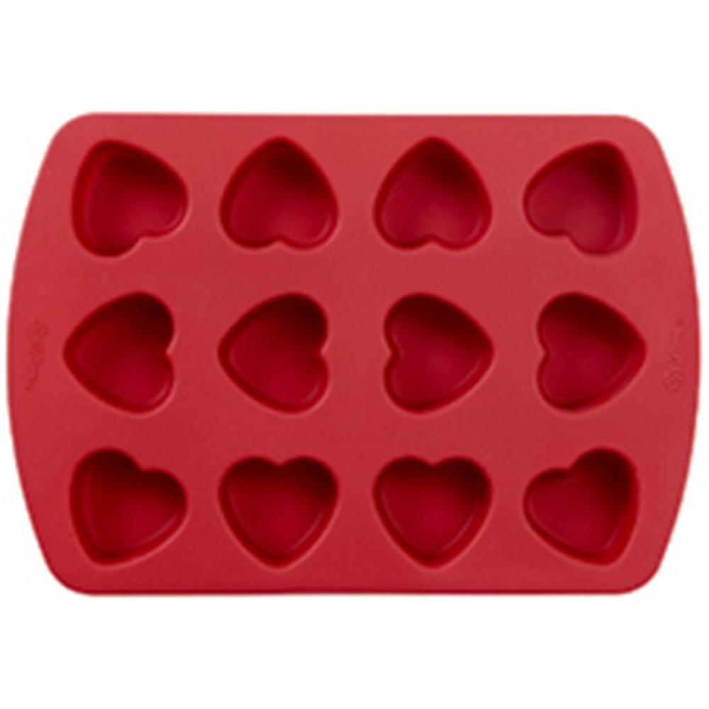 Wilton Silicone Petite Hearts Mold