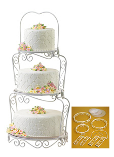 Assembly Wedding Cake Tiers