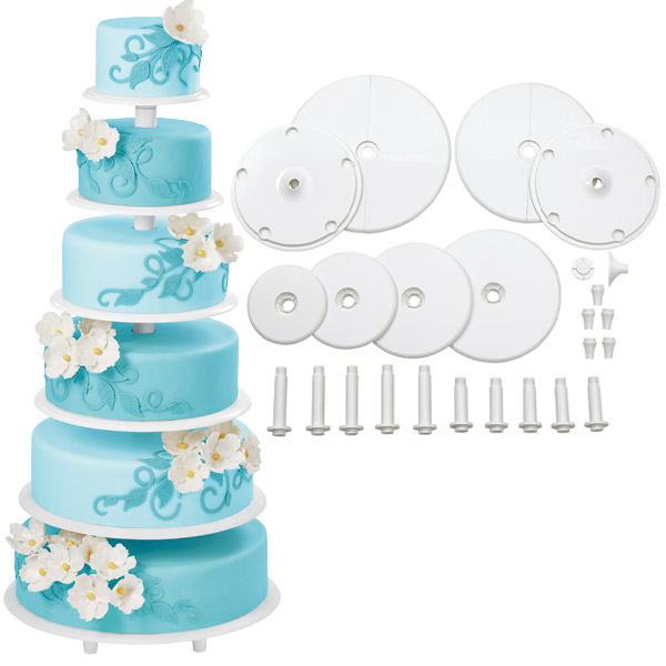 sc 1 st  The Bakeru0027s Kitchen & Wilton Towering Tiers Cake Stand