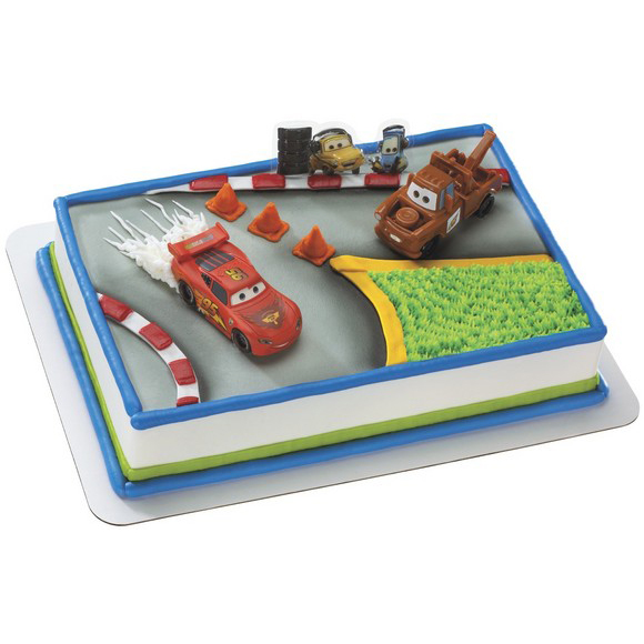 Safeway Cake Decorator Job Description : Decopac Cars 2 World Tour Cake Kit
