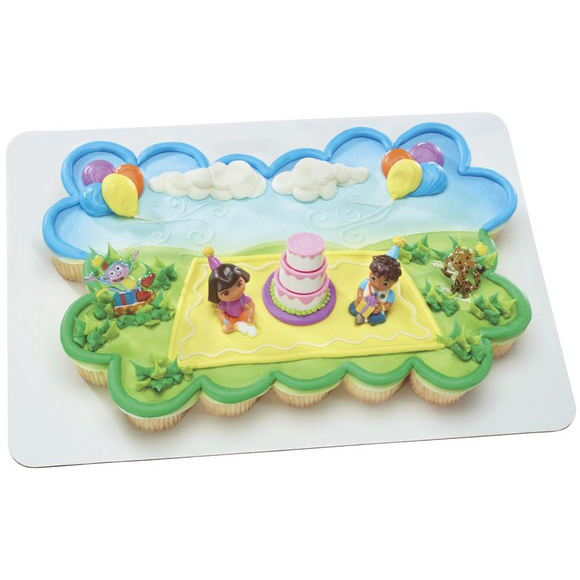 Decopac Dora The Explorer Birthday Celebration Cake Kit