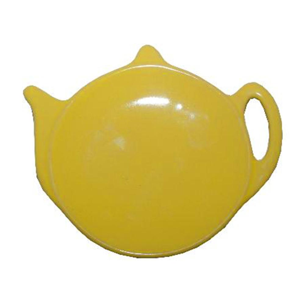 Price & Kensington Yellow Teabag Holder