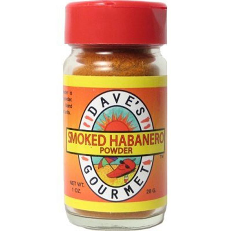 Dave's Hot Smoked Habanero Powder, 1 Ounce