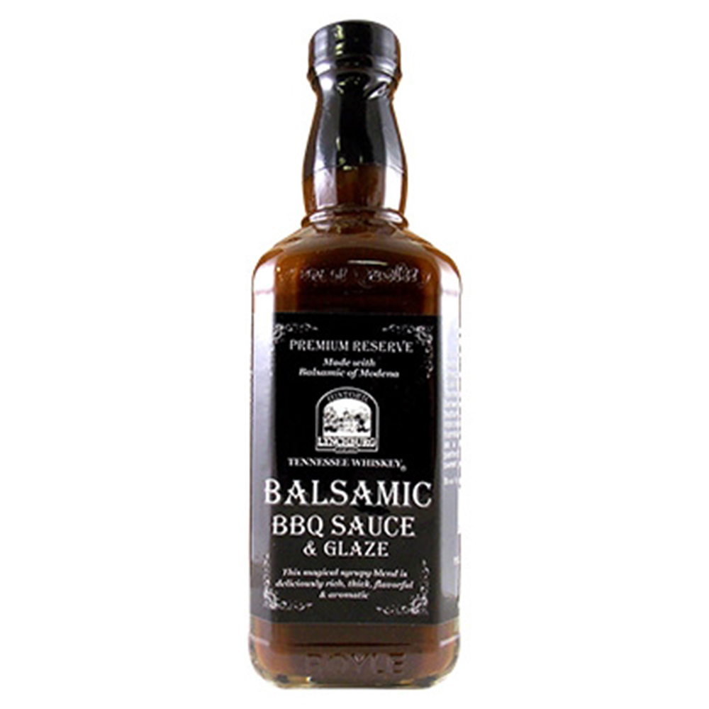 Historic Lynchburg Tennessee Whiskey Balsamic BBQ Sauce & Glaze, 16oz.