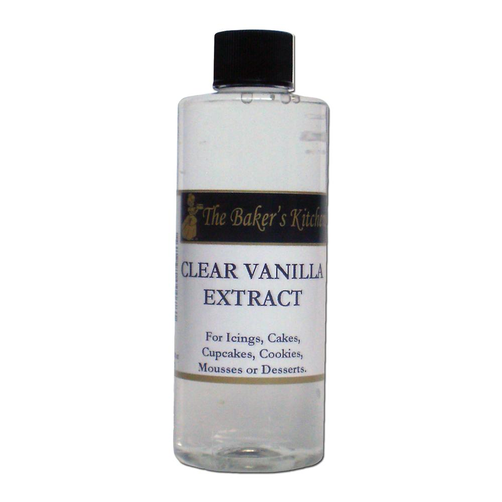 TBK Clear Vanilla Extract is made from the finest quality ingredients ...