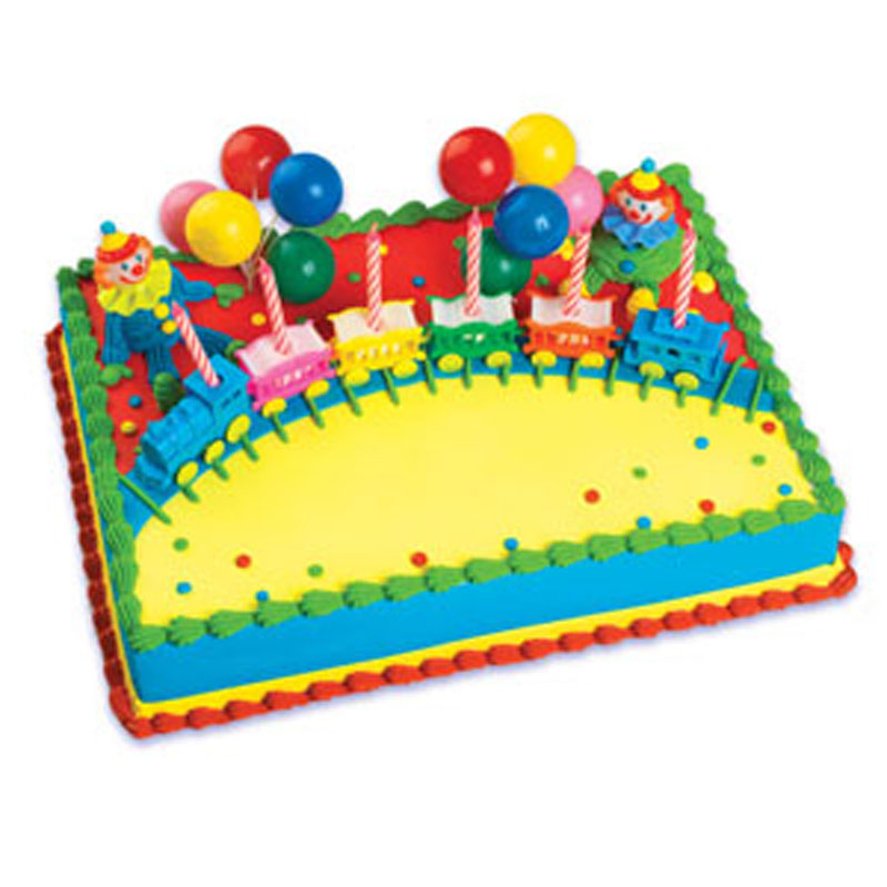 Bakery Crafts Circus Train Cake Kit