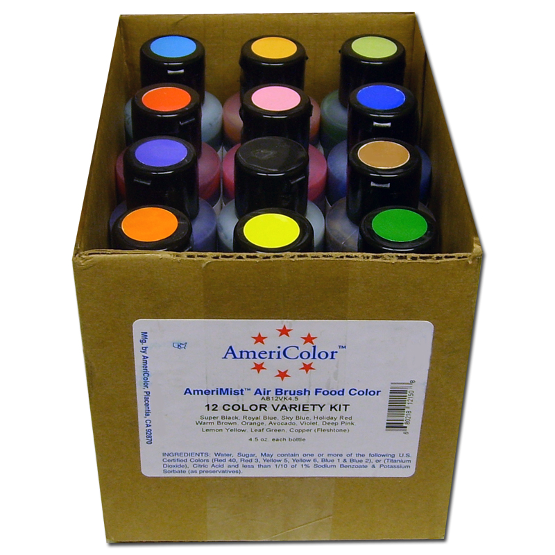 AmeriColor Corp.Airbrush (liquid) Food Color | Country Kitchen ...