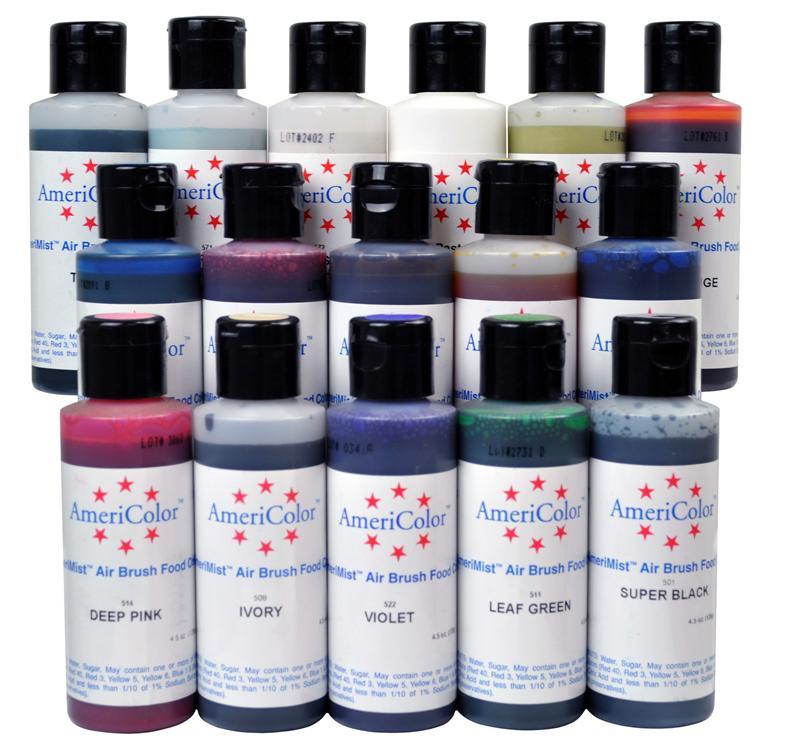 Americolor Amerimist Airbrush Color 4.5 Ounce Bottle