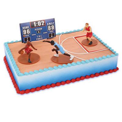 Bakery Crafts Boys Basketball Cake Kit