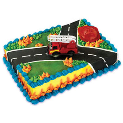Safeway Cake Decorator Job Description : Bakery Crafts Fire Rescue Cake Kit