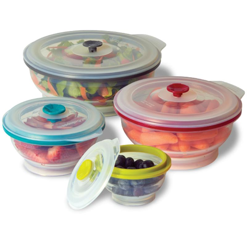 Collapse It Silicone Food Storage Containers