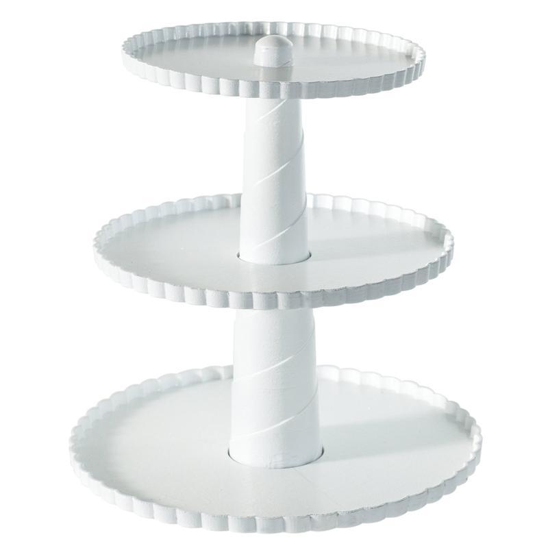 3 Tier Dessert Stand 3 Tier Collapsible Thicker Sturdier