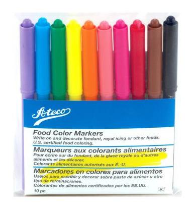 Ateco 10-pc. Food Writer Markers Set