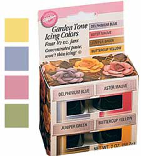 Wilton Garden Tone 4 Icing Colors Set