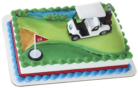 Decopac Golf Cart Cake Kit