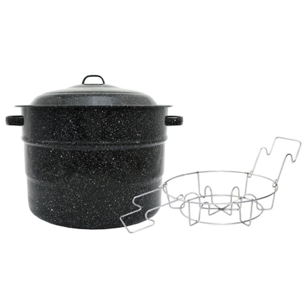 Granite Ware Canner With Rack
