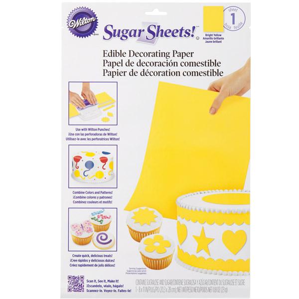 fondant sheets