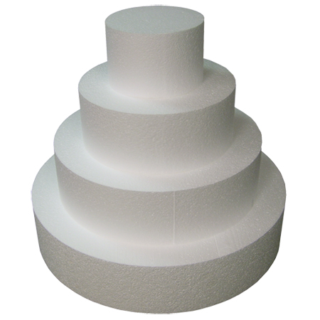 Styrofoam Wedding Cake Forms