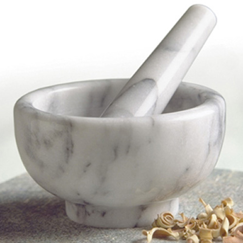 Marble Mortar Mix : Rsvp white marble mortar and pestle