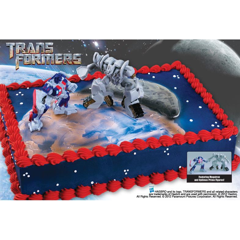Bakery Crafts Transformers Cake Kit