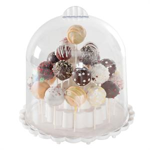 NordicWare Cake Pops Keeper with Domed Cover