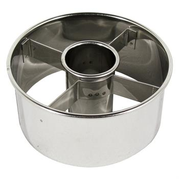 Ateco 3.5-Inch Stainless Steel Doughnut Cutter