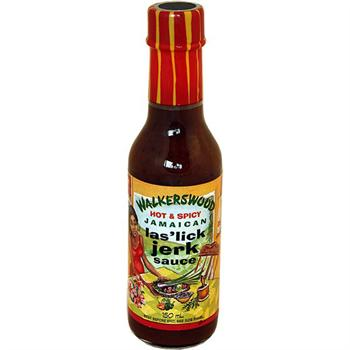 Walkerswood Hot & Spicy Jamaican Jerk Hot Sauce, 5 Ounce