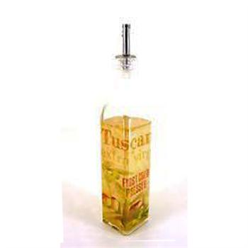 Grant Howard 16 oz Olio Di Oliva Glass Cruet