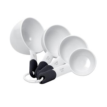 KitchenAid 4 Piece White Measuring Cups Set