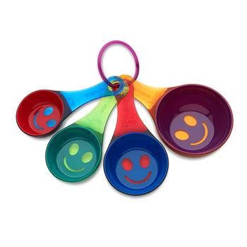 Kizmos Get Happy Measuring Cup, Set of 4